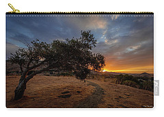 Sunrise Over San Luis Obispo Carry-all Pouch