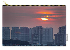 Sunrise Over Singapore Residential Neighborhood Carry-all Pouch