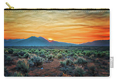 Sunrise Over Taos II Carry-all Pouch