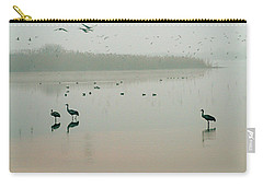 Sunrise Over The Hula Valley Israel 2 Carry-all Pouch