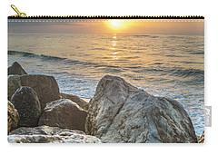 Sunrise Over The Rocks  Carry-all Pouch