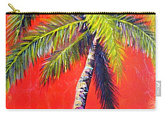 Sunrise Palm Carry-all Pouch