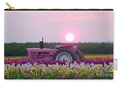 Sunrise Pink Greets John Deere Tractor Carry-all Pouch