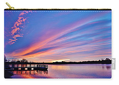 Sunrise Reflecting Carry-all Pouch by Diane Alexander