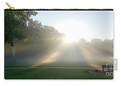 Carry-all Pouch featuring the photograph Sunrise  by Ricky L Jones