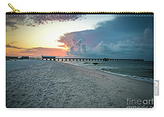 Sunrise Seascape Gulf Shores Al Pier 064a Carry-all Pouch
