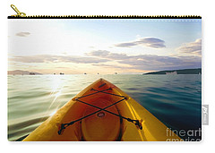 Sunrise Seascape Kayak Adventure Carry-all Pouch