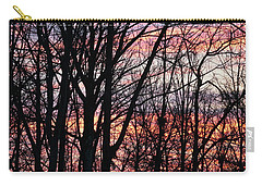 Sunrise Silhouette And Light Carry-all Pouch