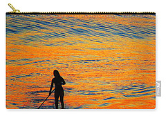Sunrise Silhouette Carry-all Pouch
