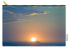 Carry-all Pouch featuring the photograph Sunrise Sky by  Newwwman