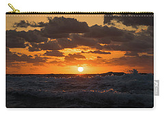 Sunrise Splash Surf Delray Beach Florida Carry-all Pouch
