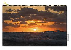 Sunrise Splash Surf Delray Beach Florida Carry-all Pouch