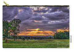 Sunrise Stairways To Heaven Farmland Art Carry-all Pouch