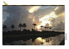 Sunrise Storm Carry-all Pouch