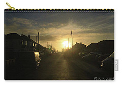 Sunrise Street Carry-all Pouch by Andrew Middleton