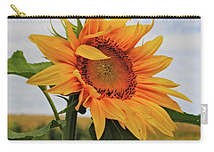Sunrise Sunflower Carry-all Pouch by Kathleen Sartoris