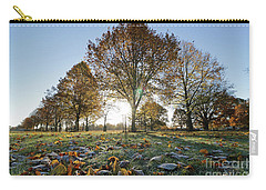 Sunrise Through Lime Trees Carry-all Pouch