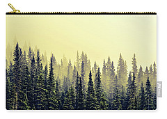 Sunrise Through The Pines Carry-all Pouch