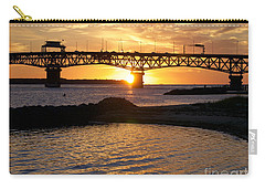 Sunrise Under Coleman Bridge Carry-all Pouch
