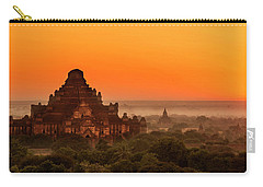 Sunrise View Of Dhammayangyi Temple Carry-all Pouch