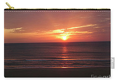 Sunrise Virginia Beach Carry-all Pouch by Melissa Messick