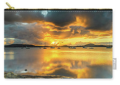 Sunrise Waterscape With Reflections Carry-all Pouch