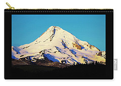 Sunrise With Mt. Hood Carry-all Pouch by Steve Warnstaff