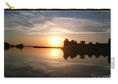 Sunset @ Rend Lake Carry-all Pouch