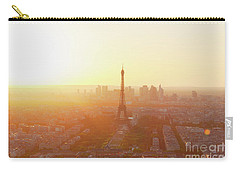 Sunset Above Paris Carry-all Pouch