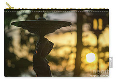 Carry-all Pouch featuring the photograph Sunset At Alameda Apodaca Cadiz Spain by Pablo Avanzini