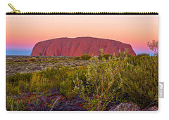 Sunset At Ayers Rock Carry-all Pouch
