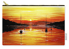 Sunset At Bala Lake Carry-all Pouch