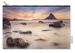 Sunset At Bleik Carry-all Pouch