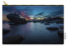 Sunset At Bonsai Rock Carry-all Pouch