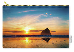 Sunset At Cape Kiwanda Carry-all Pouch