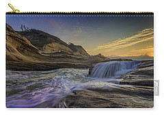 Sunset At Cape Kiwanda Carry-all Pouch by Rick Berk