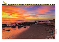 Sunset At Casperson Beach 2 Carry-all Pouch