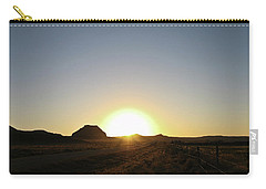 Sunset At Castle Butte Sk Carry-all Pouch