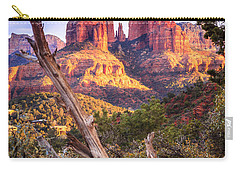 Sunset At Cathedral Rock Carry-all Pouch