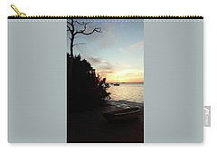 Sunset At Chrystal Beach Carry-all Pouch