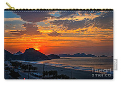 Sunset At Copacabana Carry-all Pouch