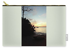 Sunset At Crystal Beach Carry-all Pouch