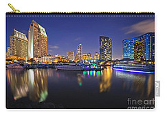 Sunset At Embarcadero Marina Park In San Diego Carry-all Pouch