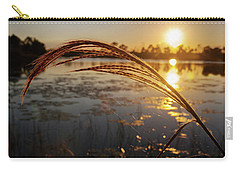 Sunset At Gator Hole 2 Carry-all Pouch by Arthur Dodd