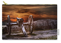 Sunset At Gettysburg Carry-all Pouch by Randy Steele