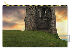 Sunset At Hadleigh Castle Carry-all Pouch