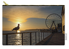 Sunset At Ivar's Carry-all Pouch