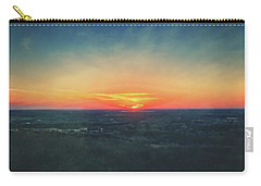 Carry-all Pouch featuring the photograph Sunset At Lapham Peak #3 - Wisconsin by Jennifer Rondinelli Reilly - Fine Art Photography