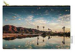 Sunset At Las Barancas Carry-all Pouch by Martina Thompson