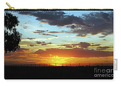Sunset At Little River Victoria Carry-all Pouch by Lexa Harpell